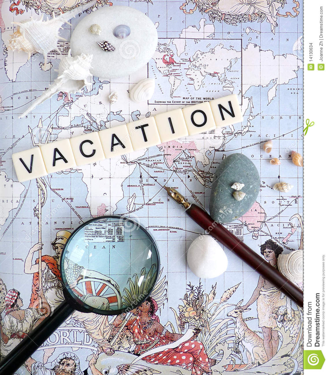 Vacation Planning Concept Stock Photo Image Of Concept