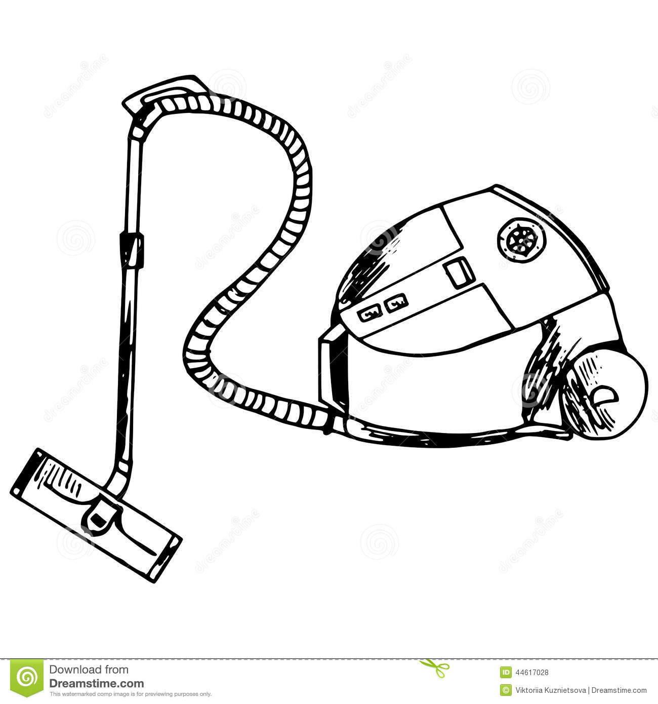 Vacuum Cleaner Stock Vector Image Of Electricity Dusting