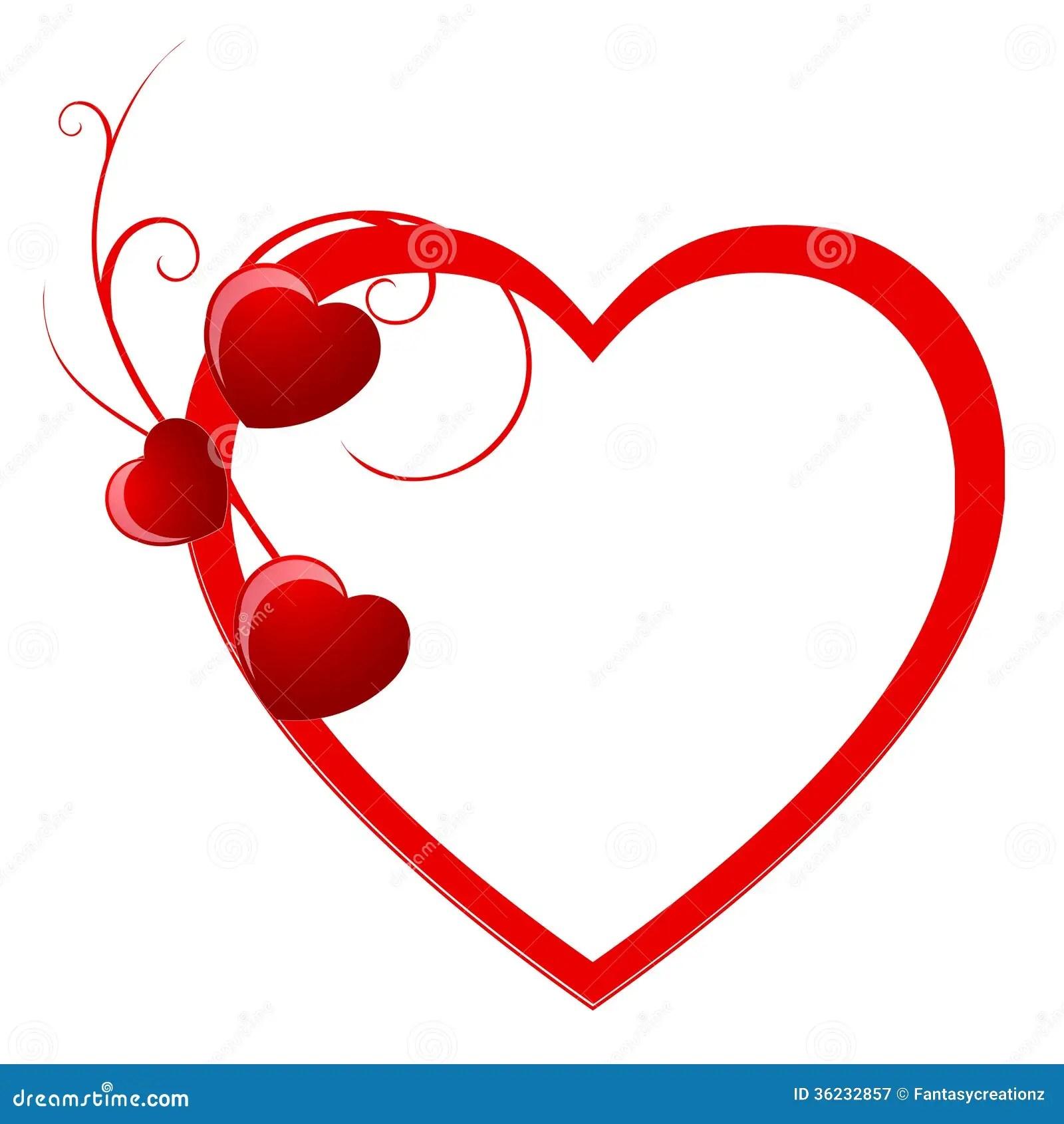 Valentine Hearts Stock Vector Illustration Of Decoration