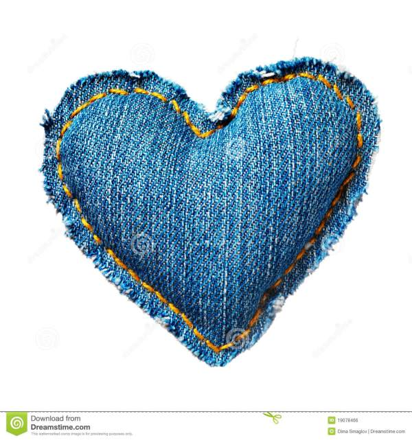 Valentine jeans heart stock photo. Image of denim ...