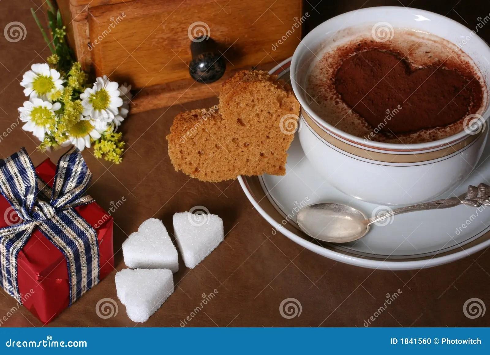 Valentines Coffee Stock Photo Image 1841560
