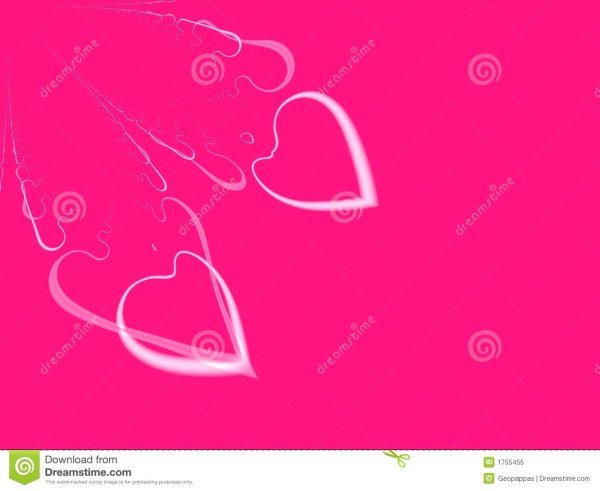 Valentines Day Heart Invitation Background Royalty Free