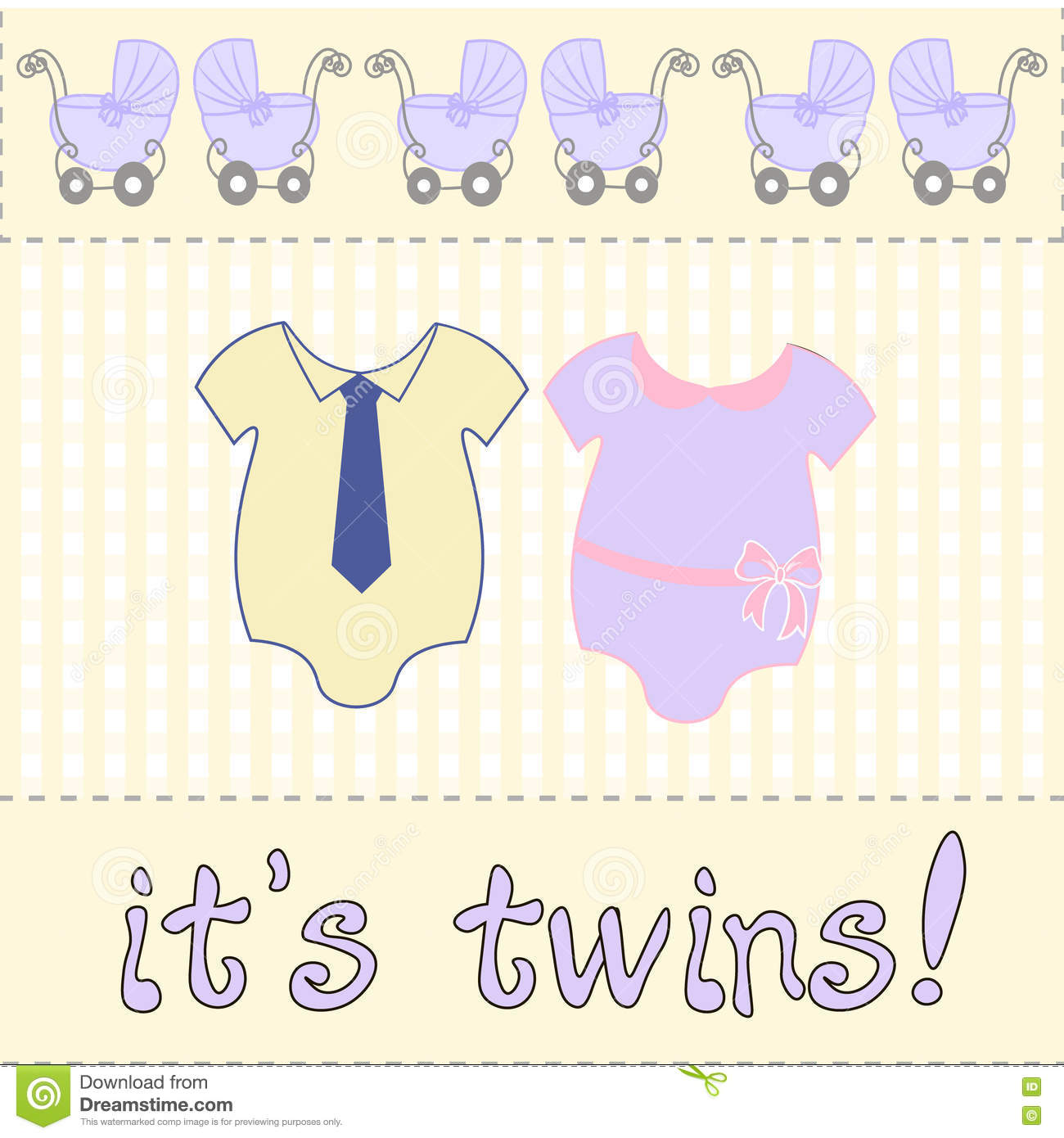 vector for baby shower or birthday invitation card two bodysuits newborn twins the twins inscription stock vector illustration of holiday customizable 78563635