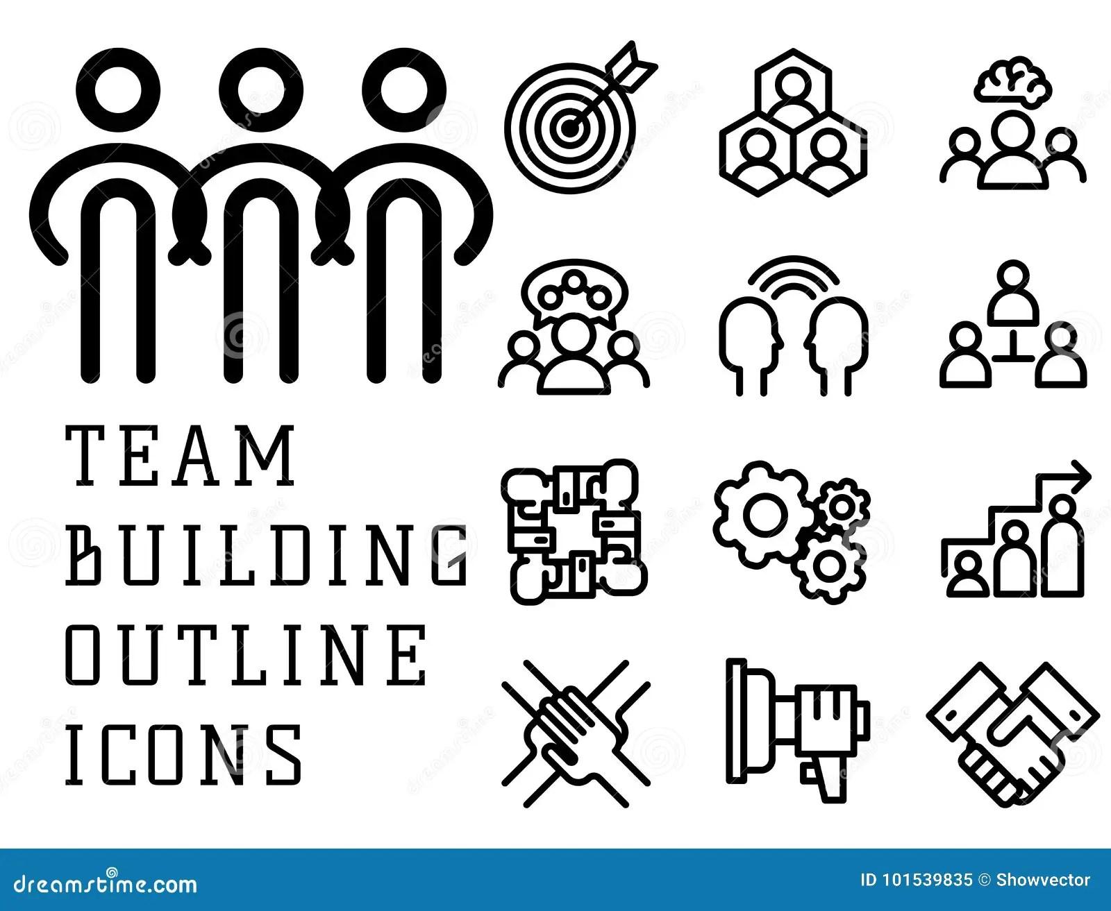Teambuilding Cartoons Illustrations Amp Vector Stock Images