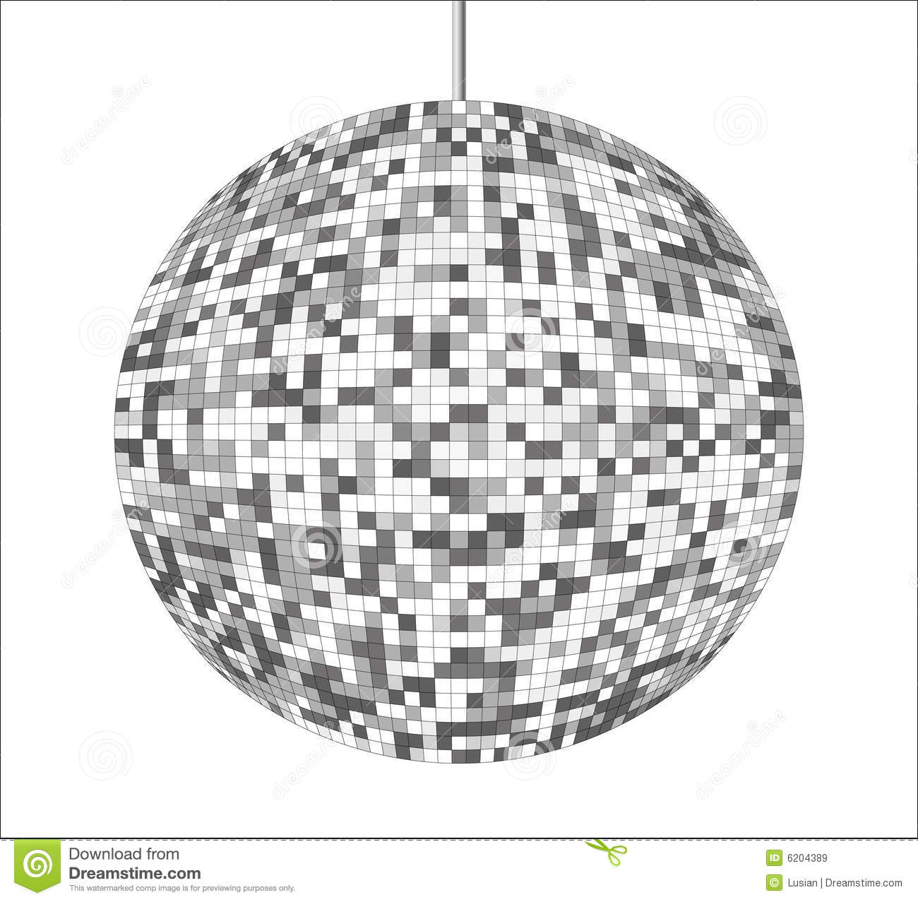Royalty Free Stock Images Vector Disco Ball Image
