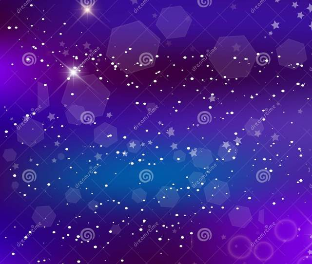 Vector Energy Fantastic Square Background Blurred Glowing Galaxy
