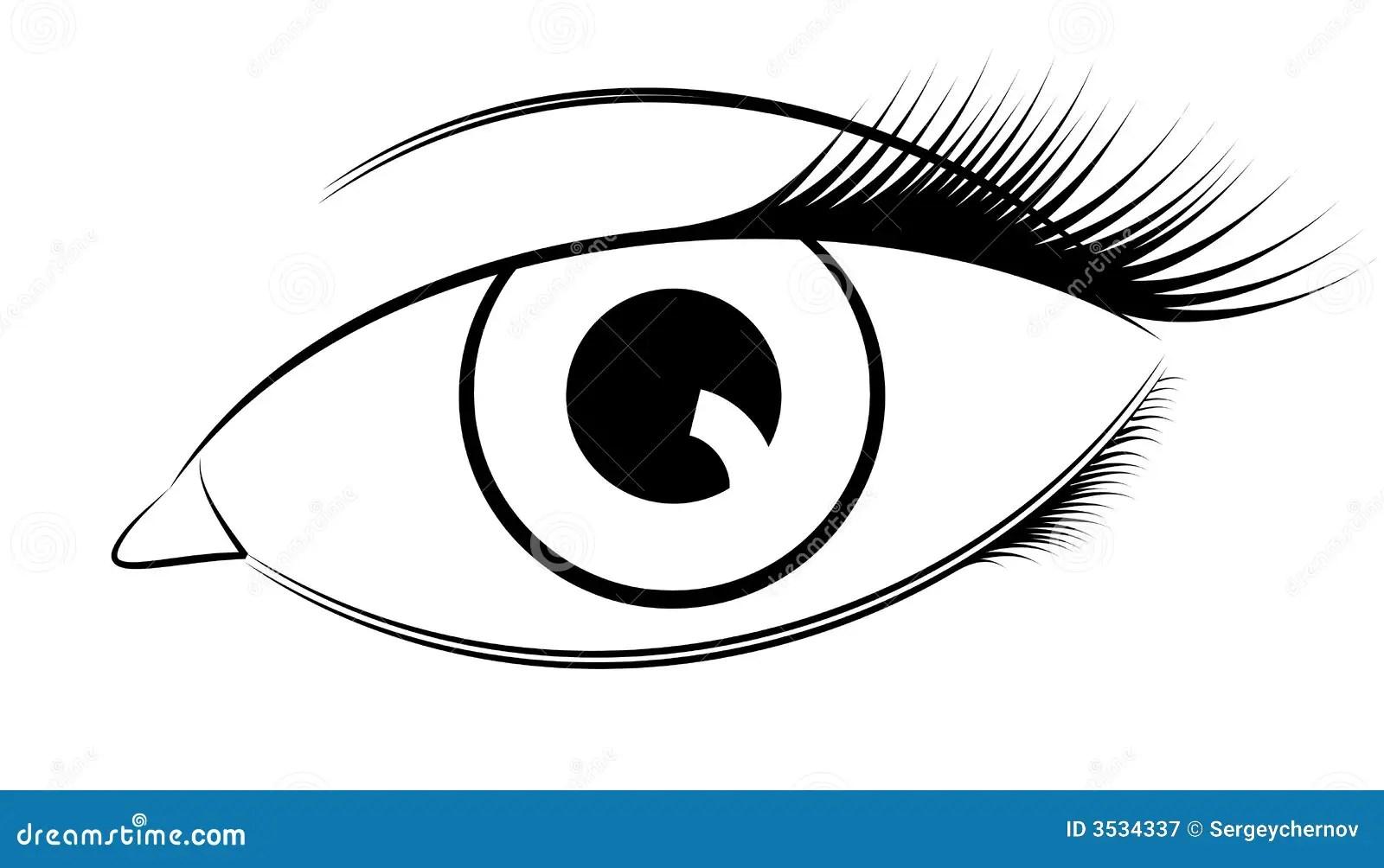 Vector Eye Stock Vector Illustration Of Conceptual