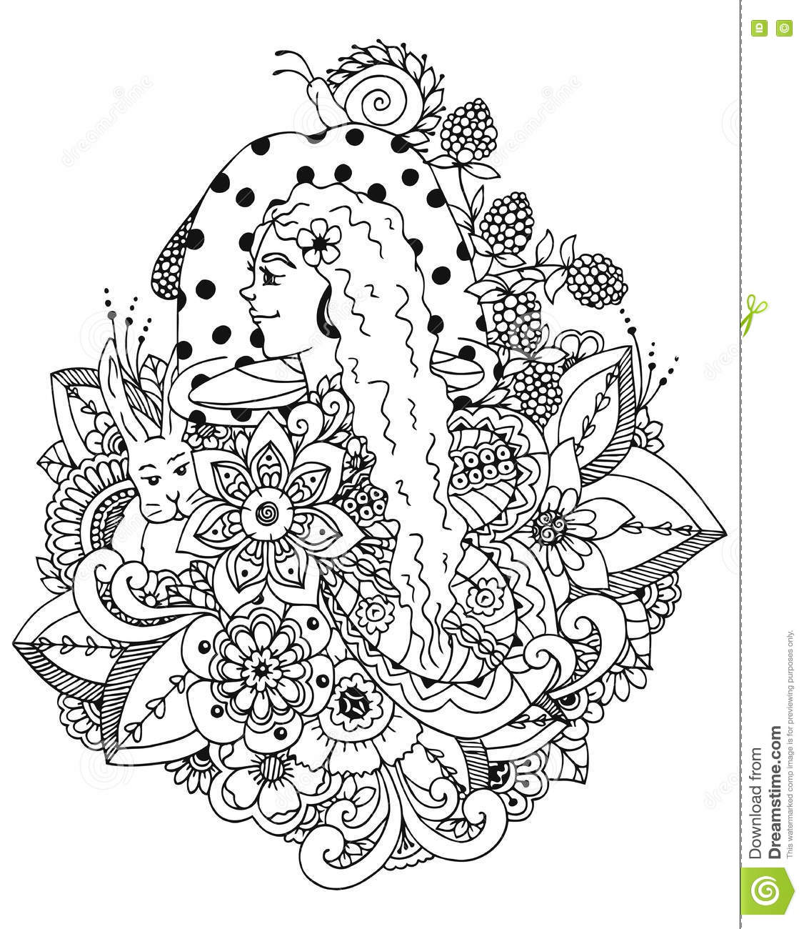 Types Fungi Coloring Sheet Pages Sketch Coloring Page