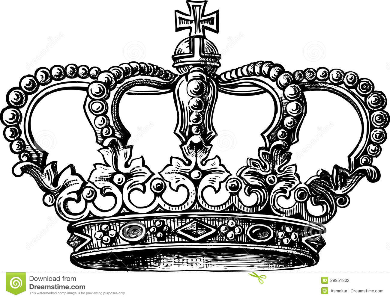 Crown Stock Vector Illustration Of Object Precious