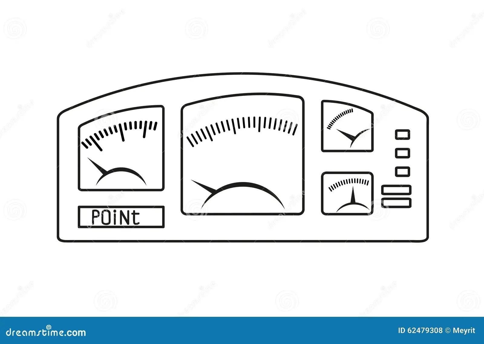 Vector Image Eps8 Stock Vector Illustration Of Odometer