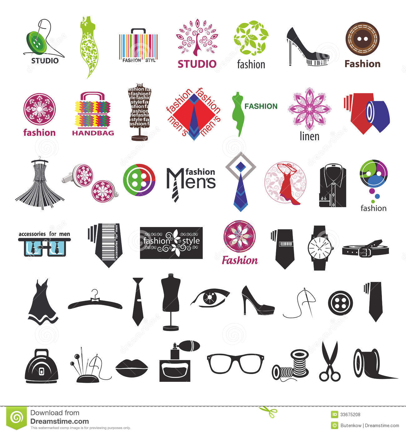 Vector Logos For Clothing And Fashion Accessories Royalty