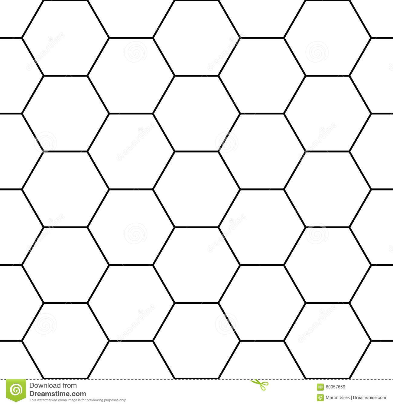 Vector Modern Seamless Geometry Pattern Hexagon Stock