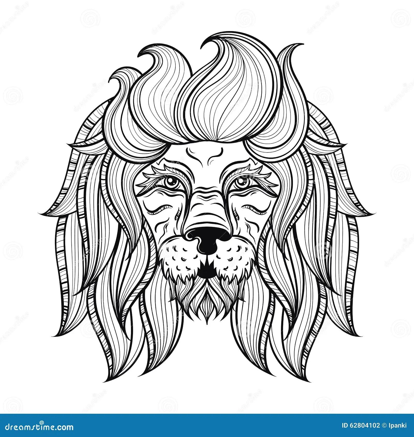 Aztec Totem Poles Vector Illustration