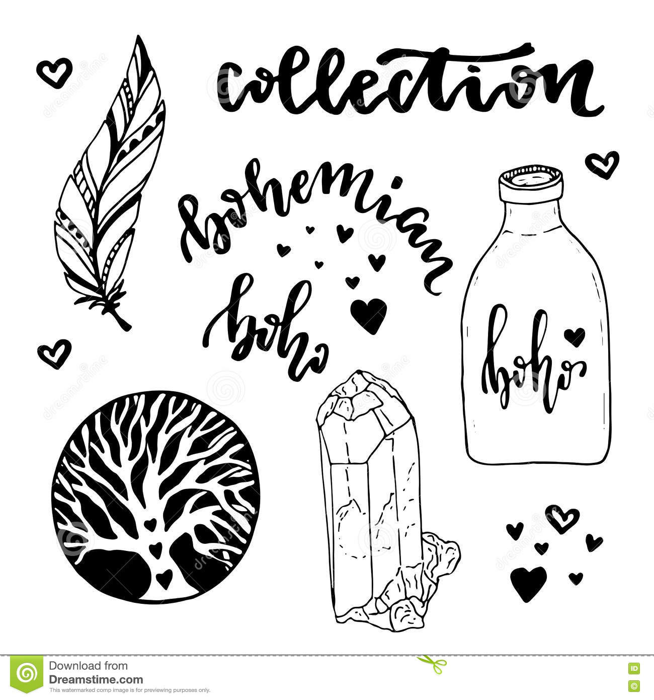 Boho Coloring Pages