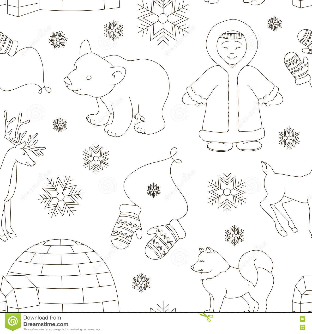 Inuit Cartoons Illustrations Amp Vector Stock Images