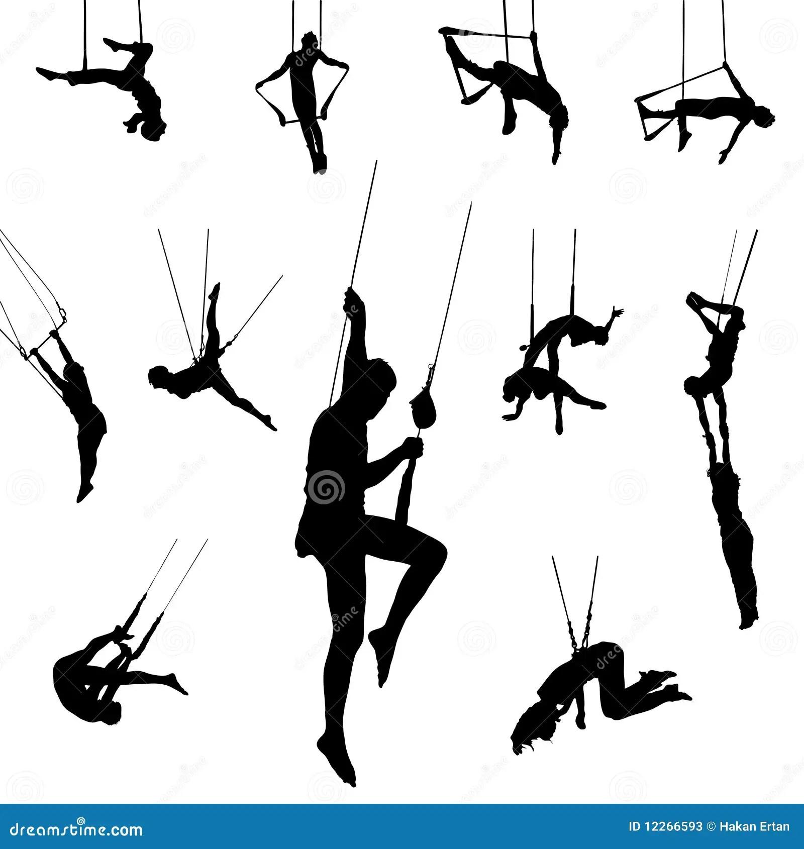 Vector T Ze Dancers Stock Vector Illustration Of