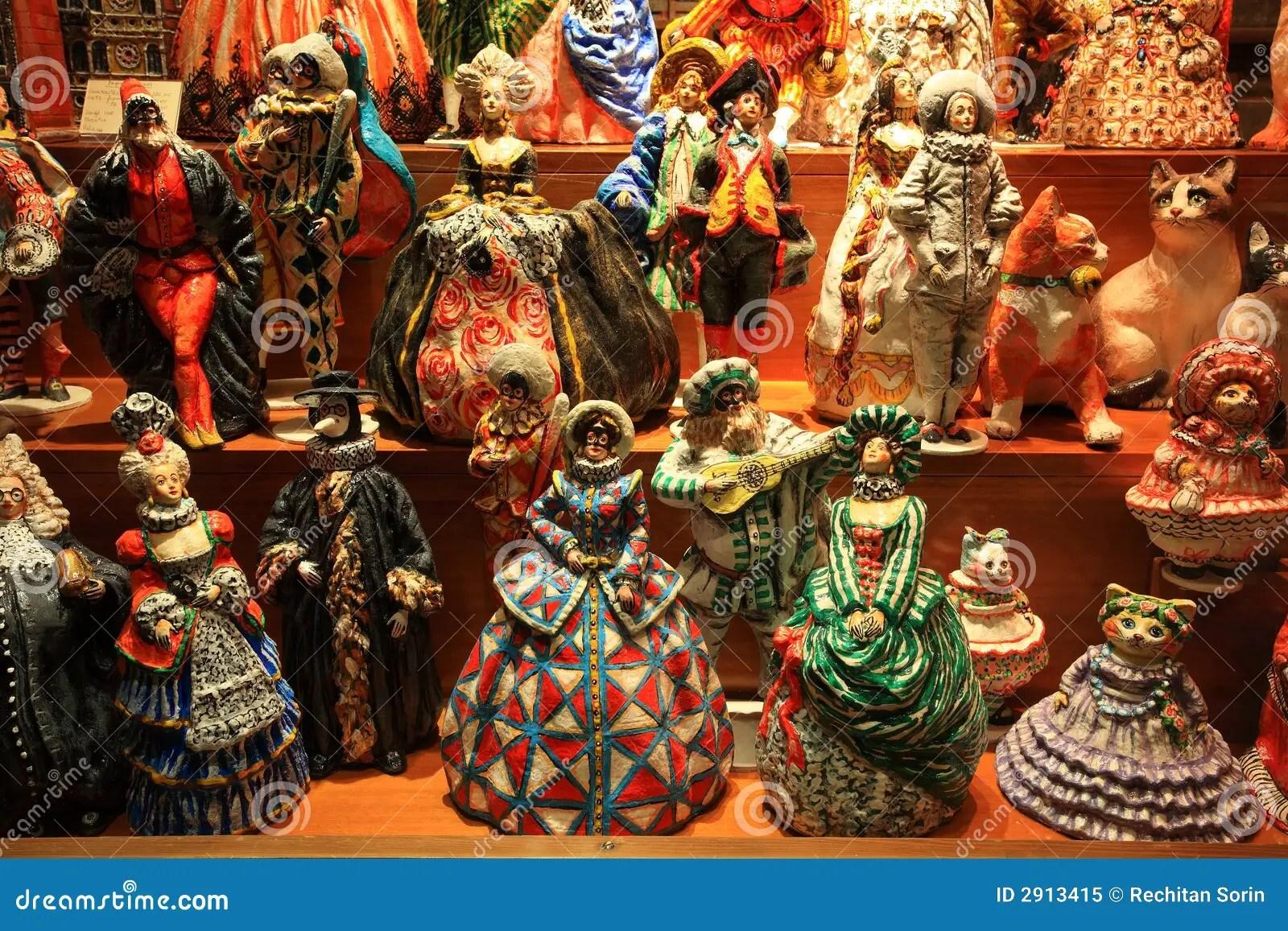 Venetian Dolls Royalty Free Stock Photo Image 2913415