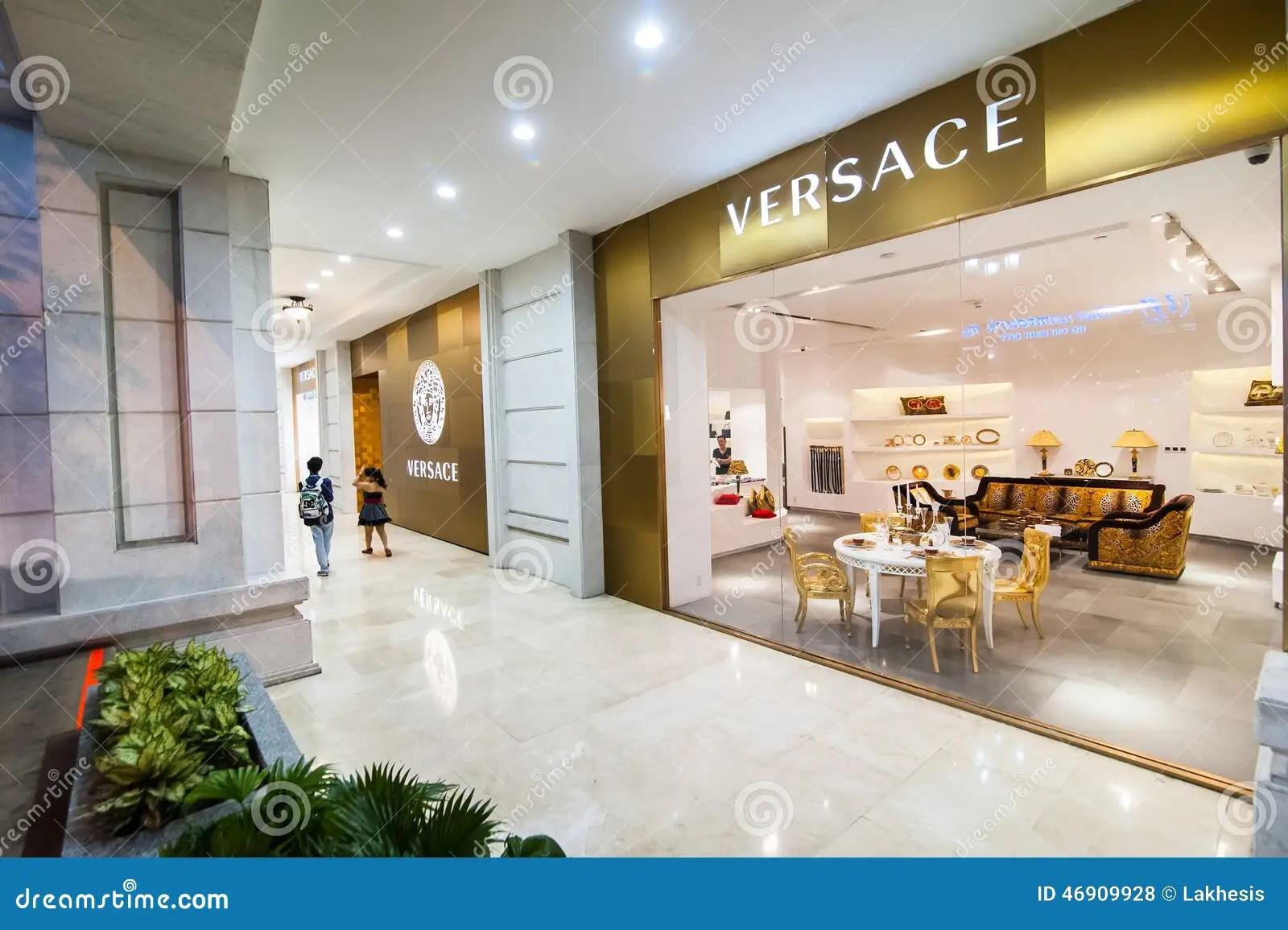 Versace Boutique Display Window Ho Chi Minh Vietnam