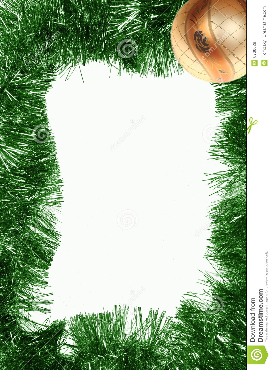 Vertical Christmas Frame Royalty Free Stock Images Image
