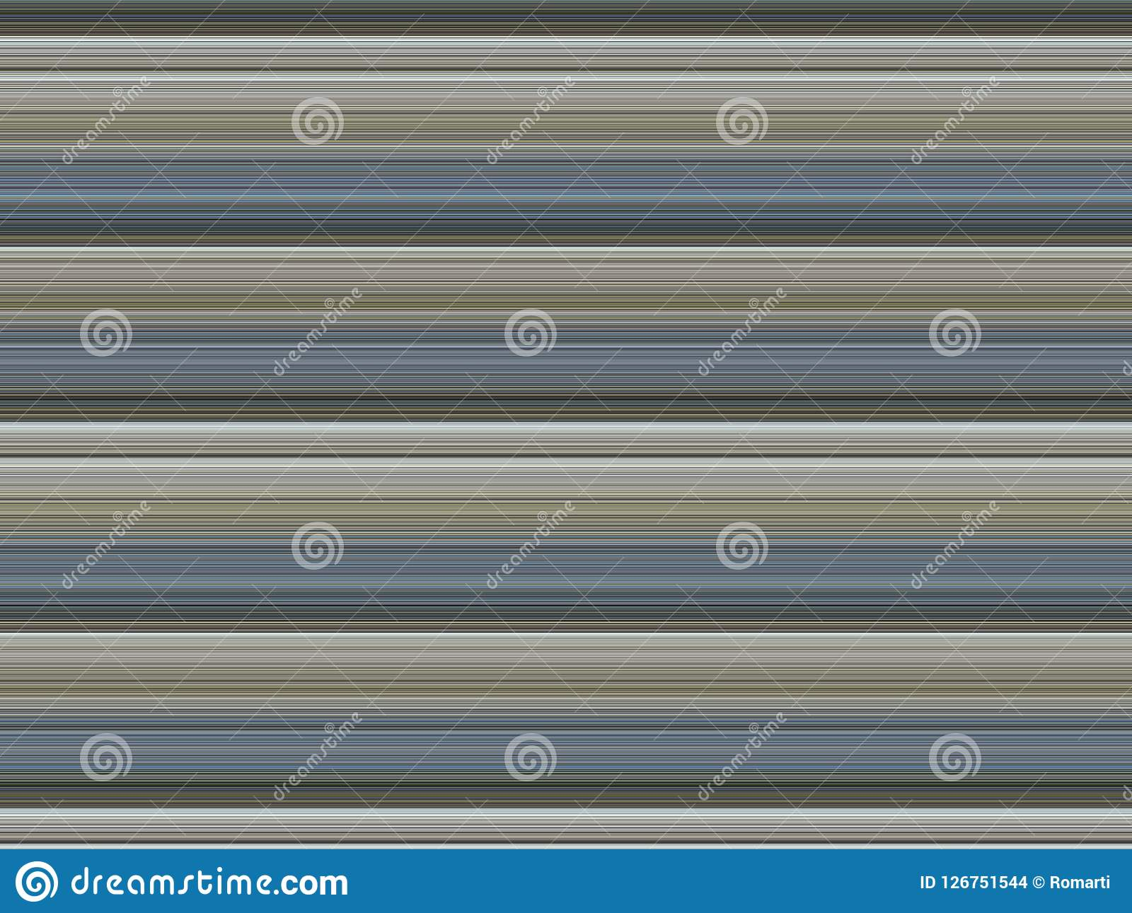 Brown Blue White Striped Background Stock Illustration