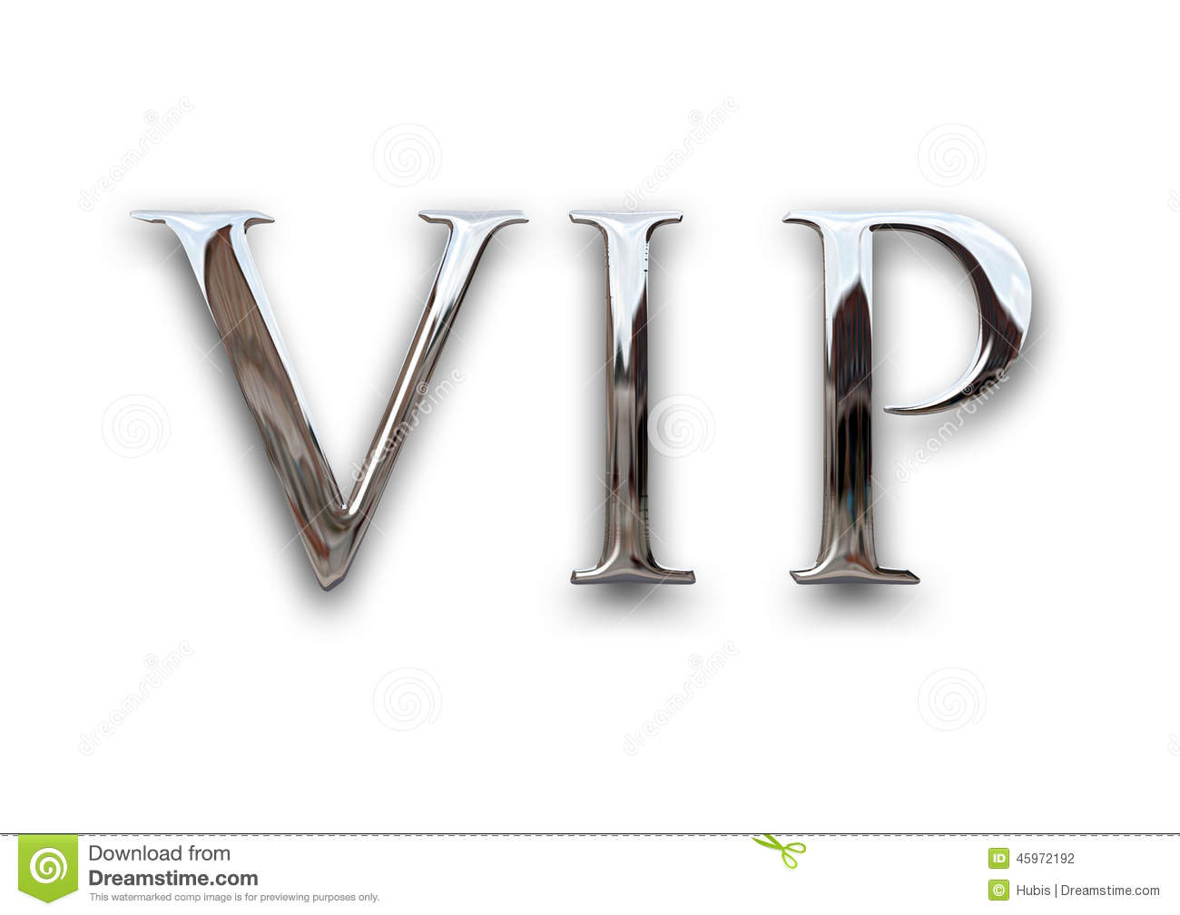 Very Important Person Vip Stock Illustration Image Of