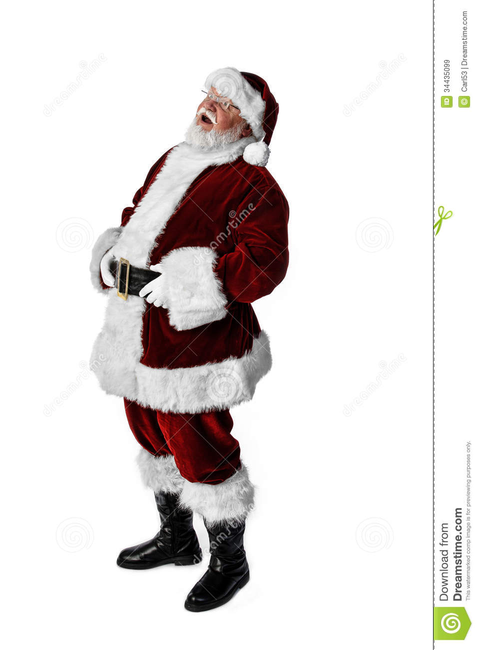Very Realistic Santa Claus Royalty Free Stock Images