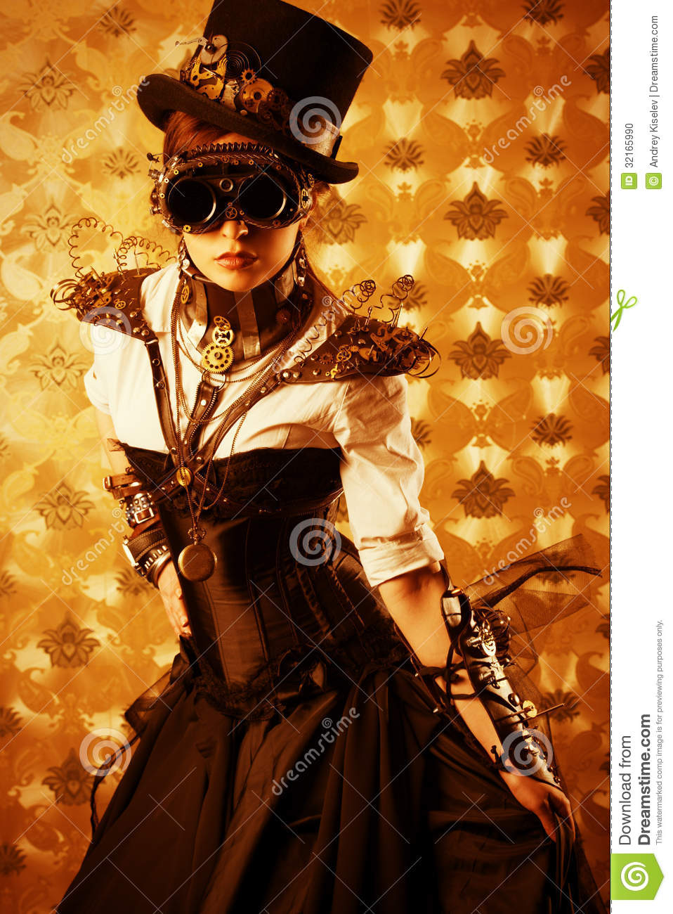 Victorian Dress Stock Photo Image 32165990