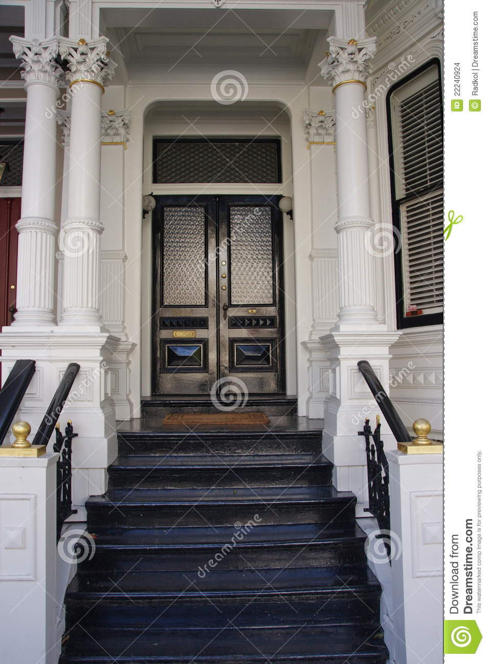 Victorian House Entrance Stock Images Image 22240924