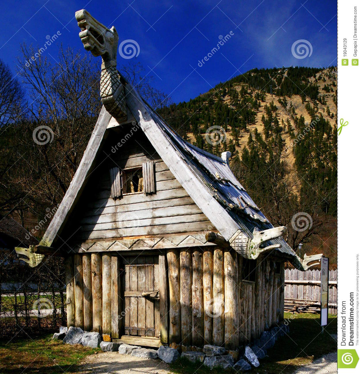 Viking House Editorial Stock Image Image Of German Germany 19043129