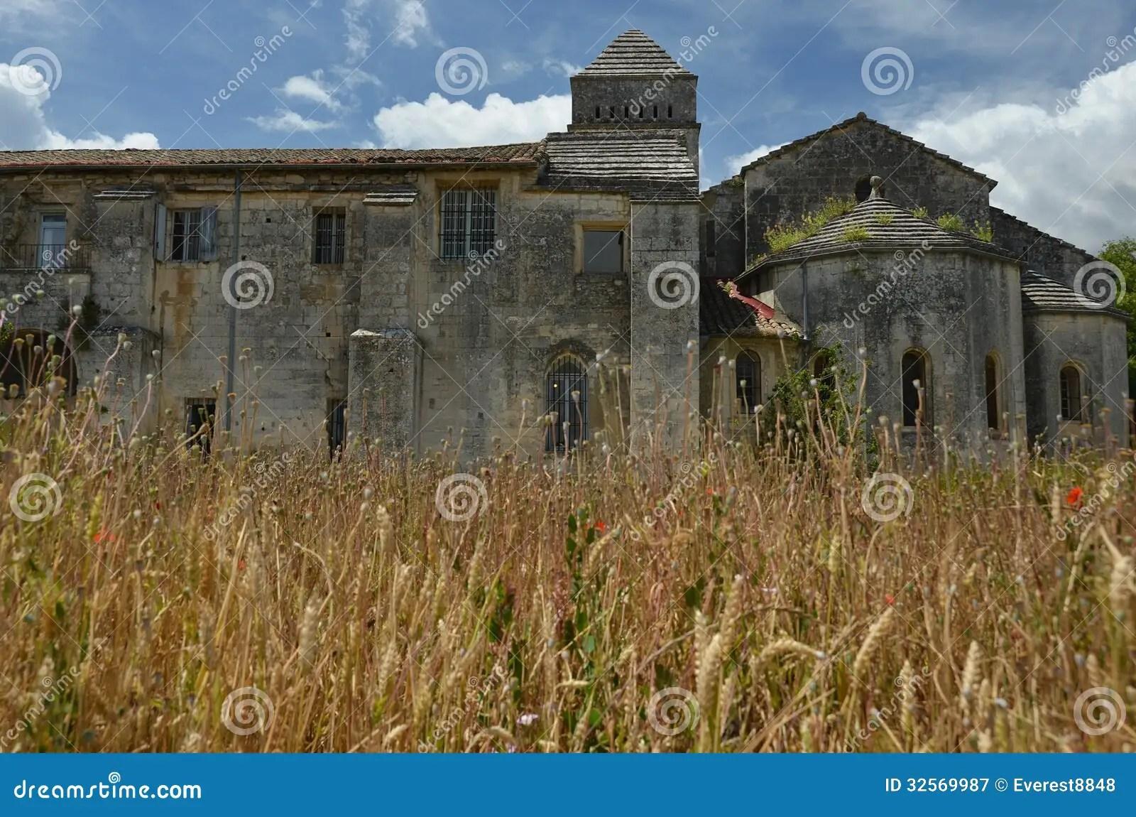 Vincent Van Goghs Asylum In Saint Remy France Royalty