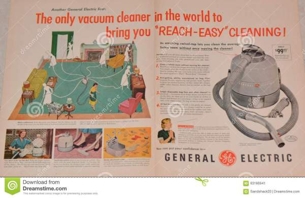 Vintage General Electric Advertisement Editorial Photo ...