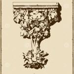 Vintage Menu Restaurant Vertical Book Stock Vector Illustration Of Brown Elegance 11289782