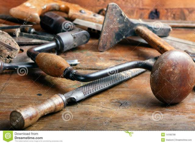 Vintage Woodworking Hand Tools