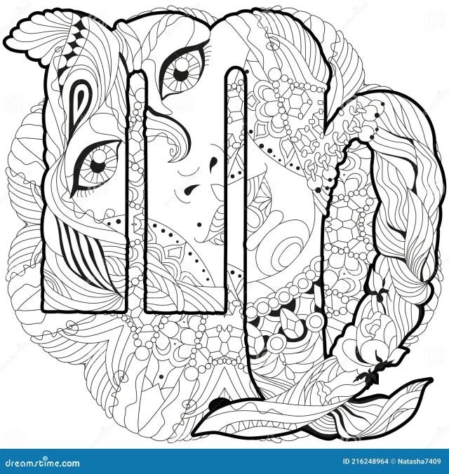 Virgo Mandala Stock Illustrations – 29 Virgo Mandala Stock