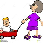 Wagon Ride Stock Illustration Illustration Of Funny Handle 104349