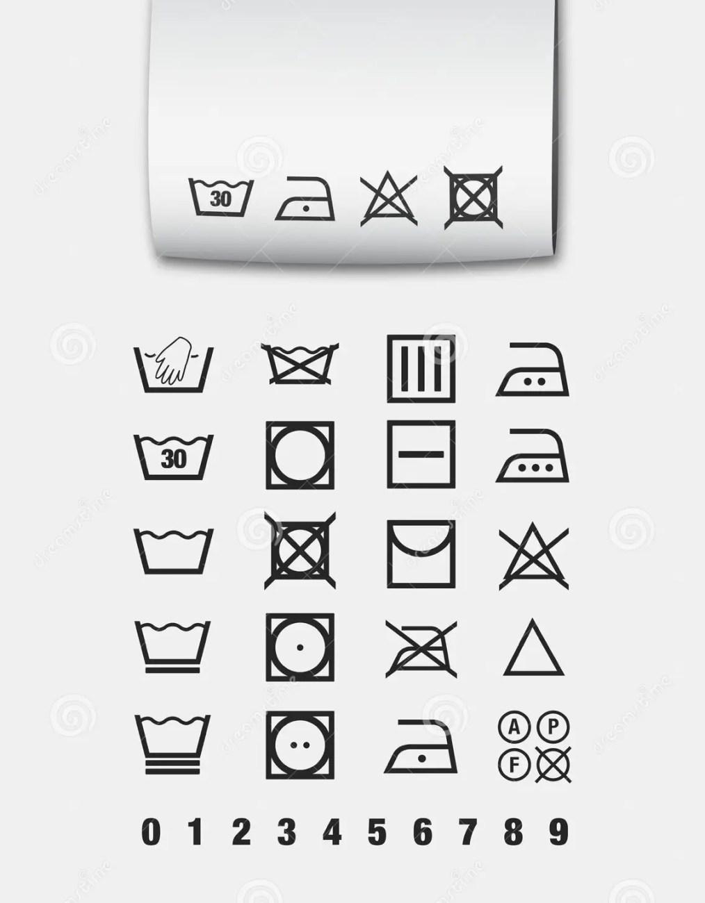 Bleach pictogram wallpapergenk washing symbols stock vector ilration of laundry 23298982 biocorpaavc Choice Image