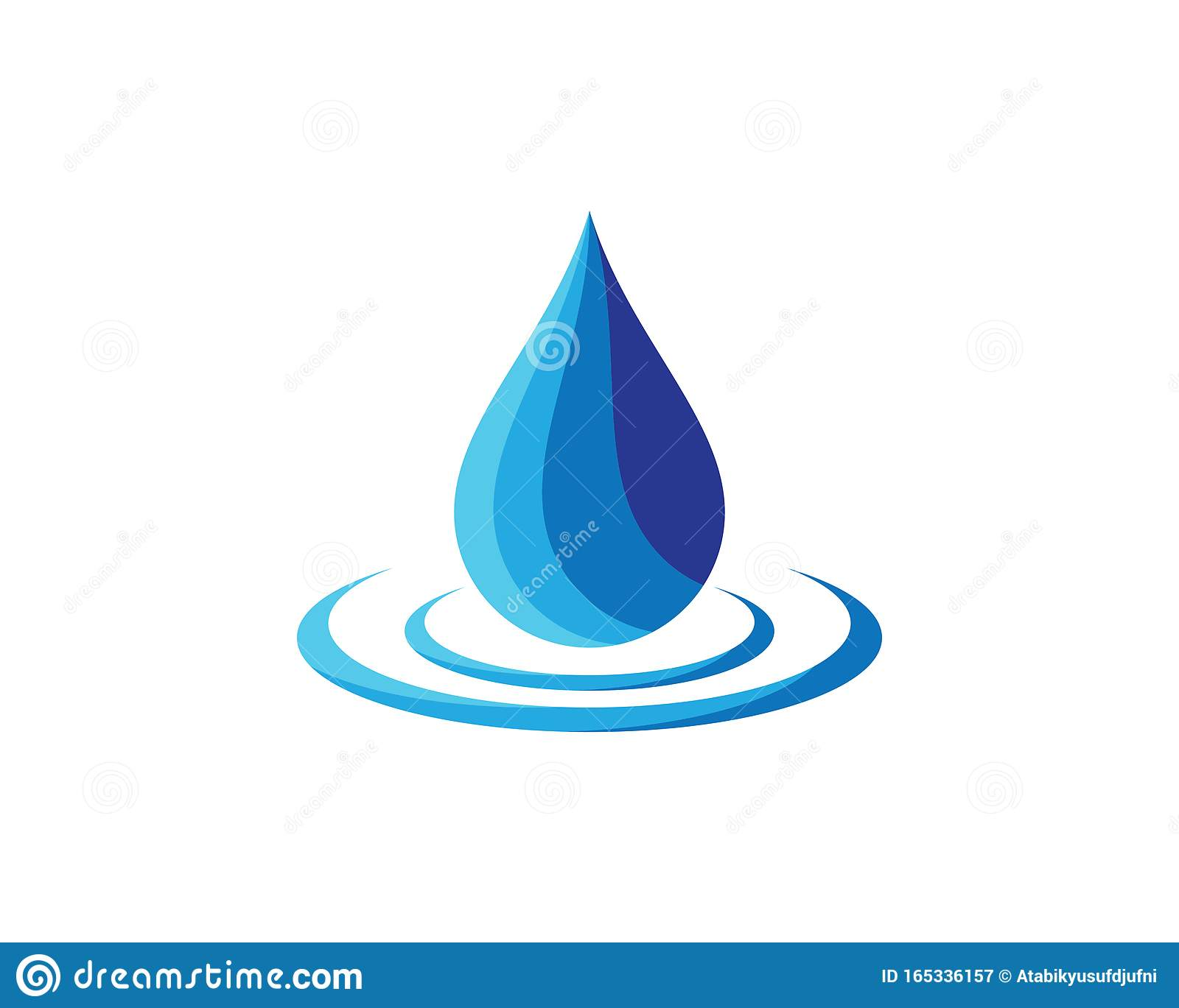 Water Drop Vector Icon Stock Vector Illustration Of Business 165336157