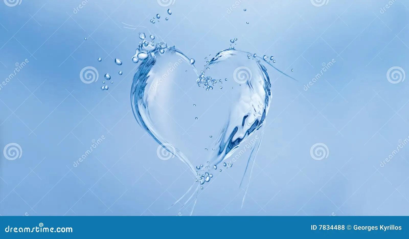 Water Heart Stock Photo Image Of Creative Beautiful 7834488