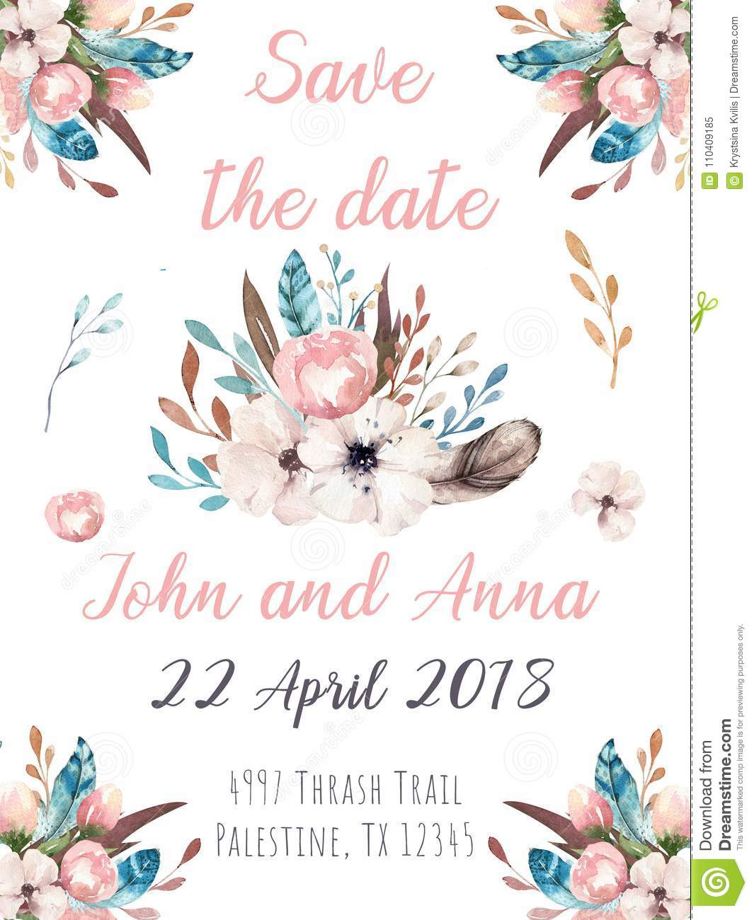 country chic bridal shower invitation template