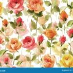 Watercolor Painting Of Beautiful Flower Wallpaper Stock Illustration Illustration Of Fresh English 39849910