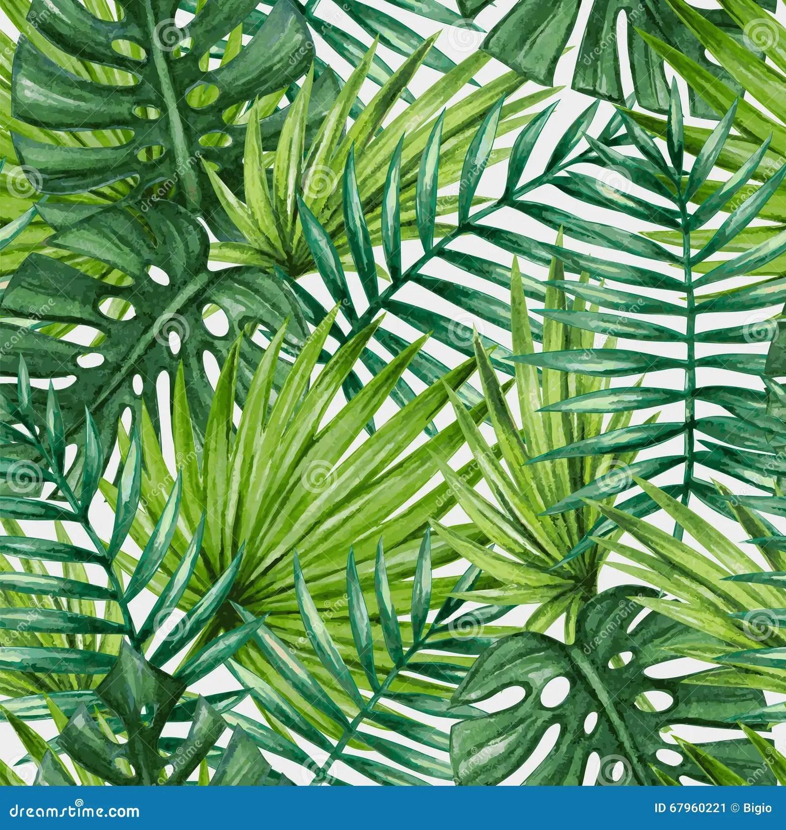 Tropical Leaves Tumblr Wallpaper