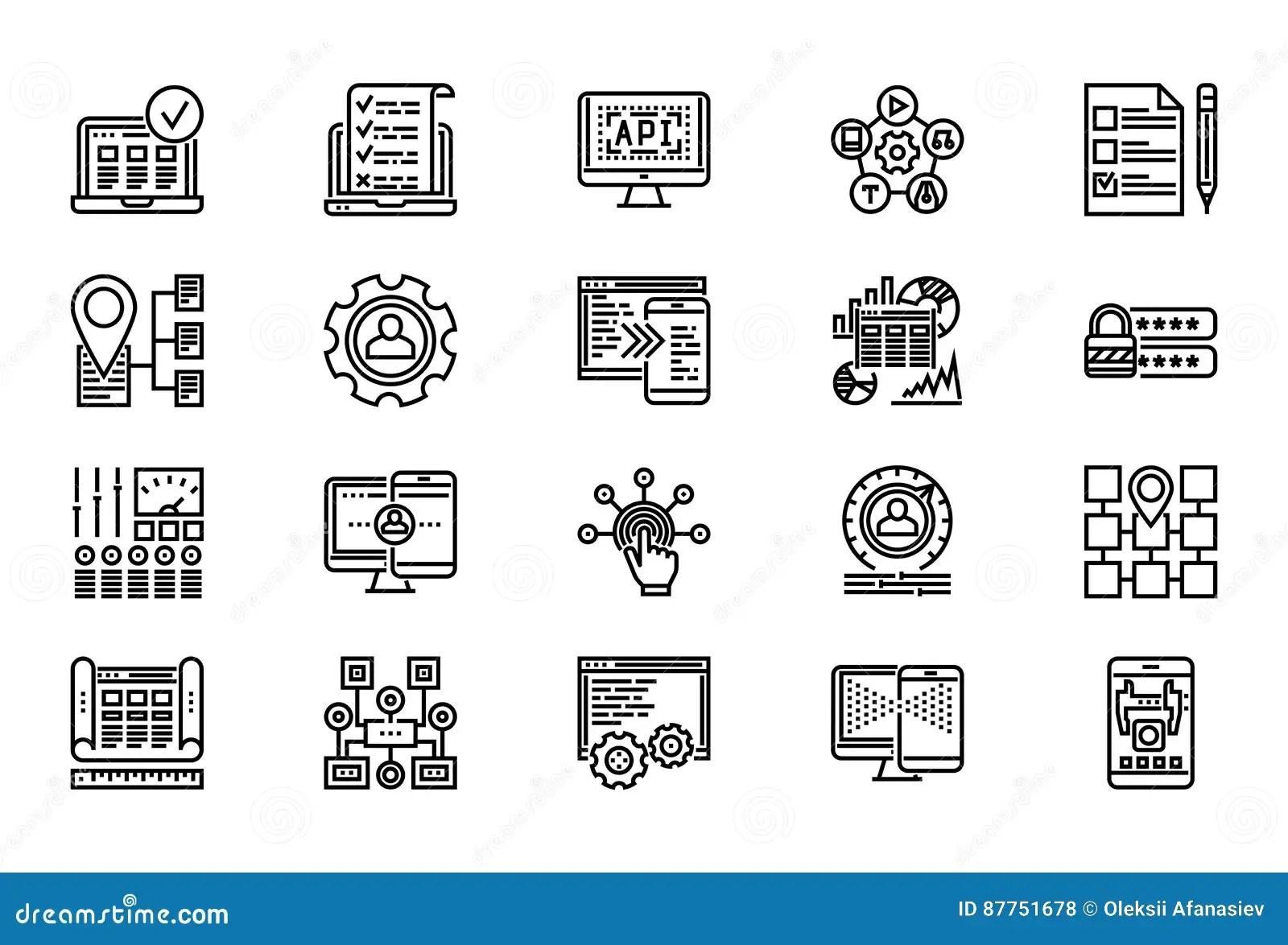 Simple Algorithm Stock Image