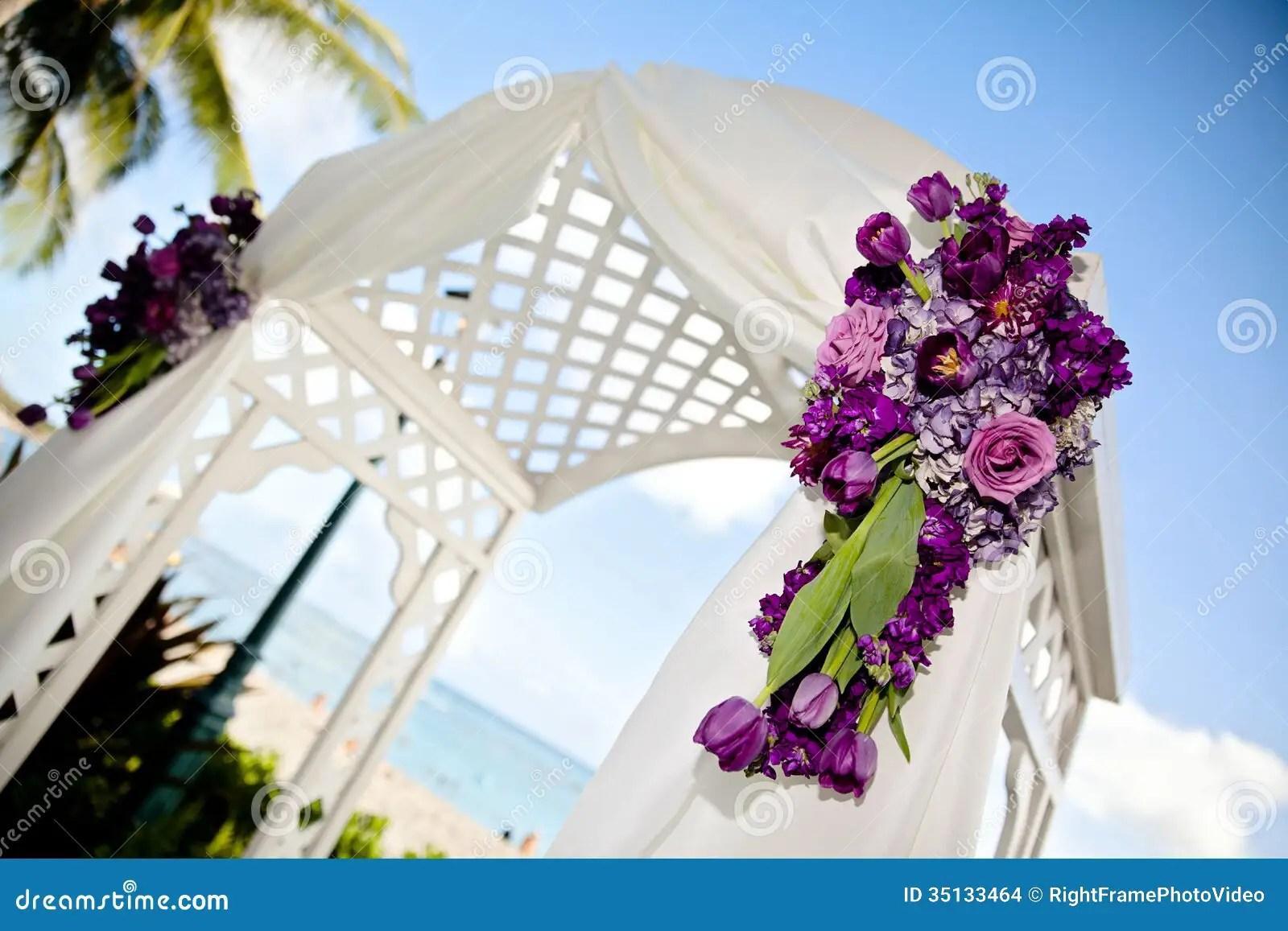 Wedding Arch Stock Photo Image Of Love Hydrangeas