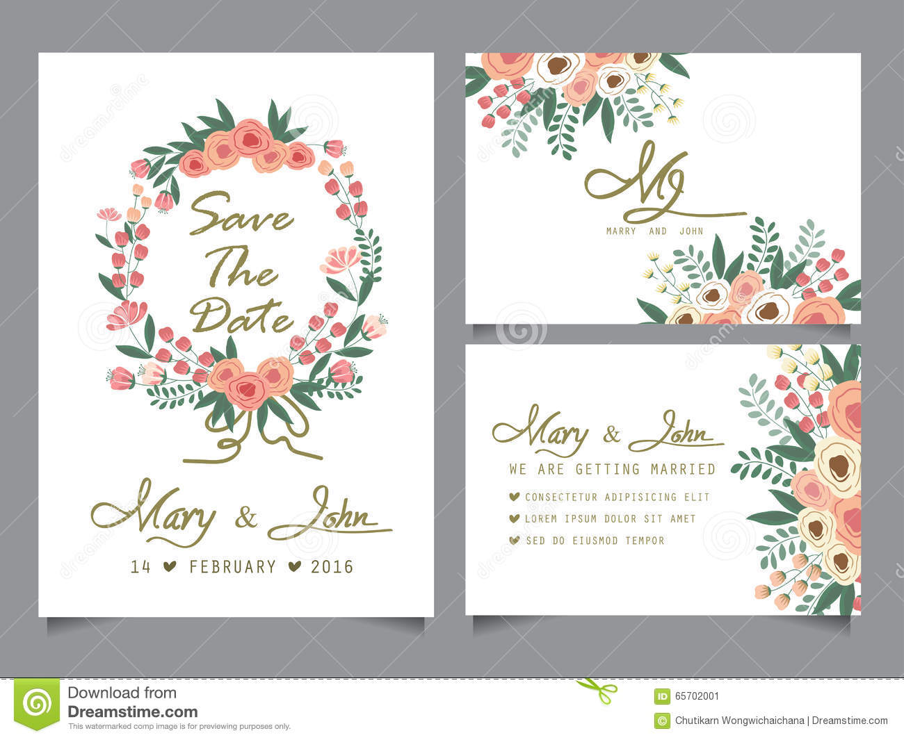 We created for wedding invitation islamic templates for free word, and send to give your event, with the birthday party planning your favorite. Wedding Invitation Card Template Stock Vector Illustration Of Background Brochure 65702001
