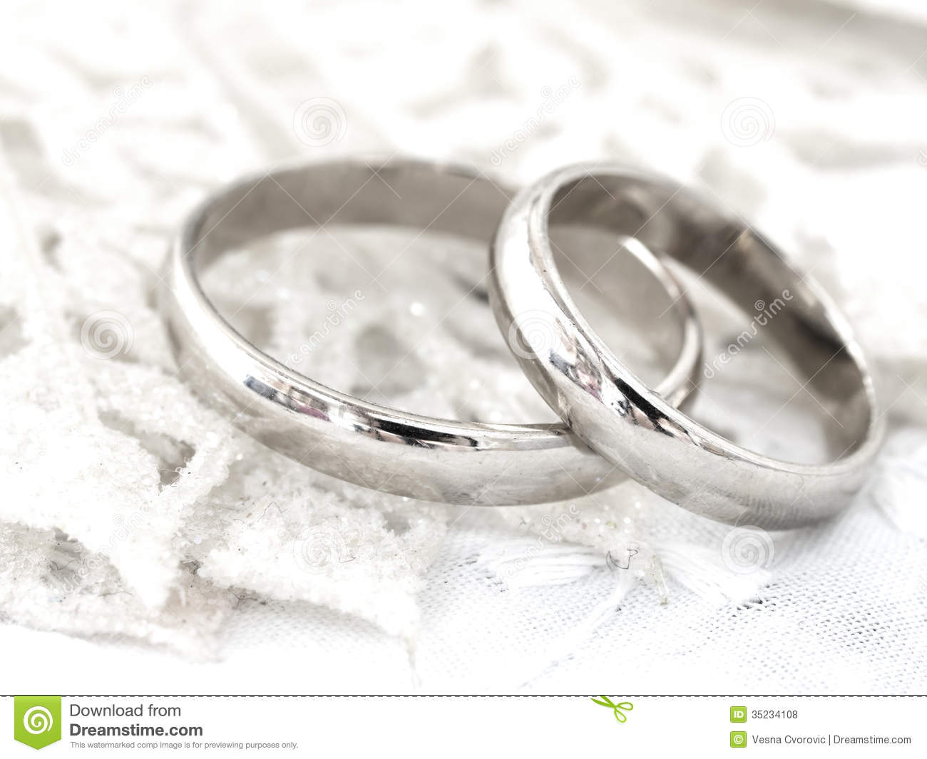Wedding Rings Royalty Free Stock Photos Image 35234108
