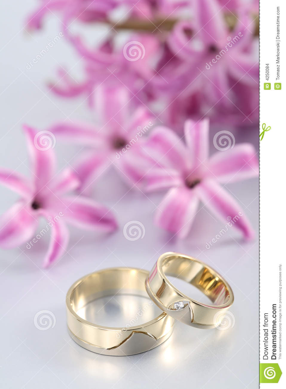 Image Result For Wedding Rings And Flowers Background