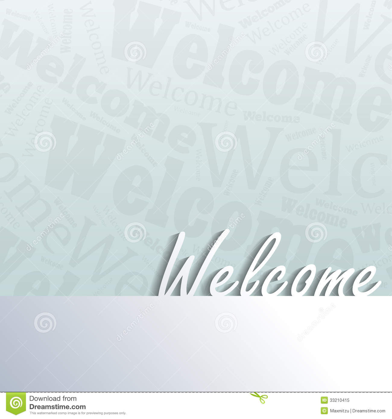 Welcome Background Royalty Free Stock Photo Image 33210415