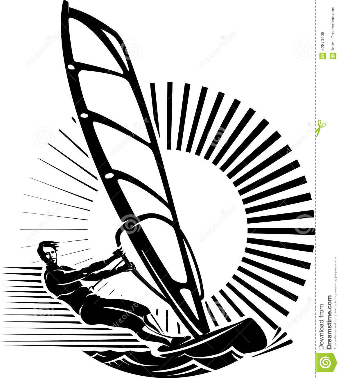 Windsurfing Cartoons Illustrations Amp Vector Stock Images