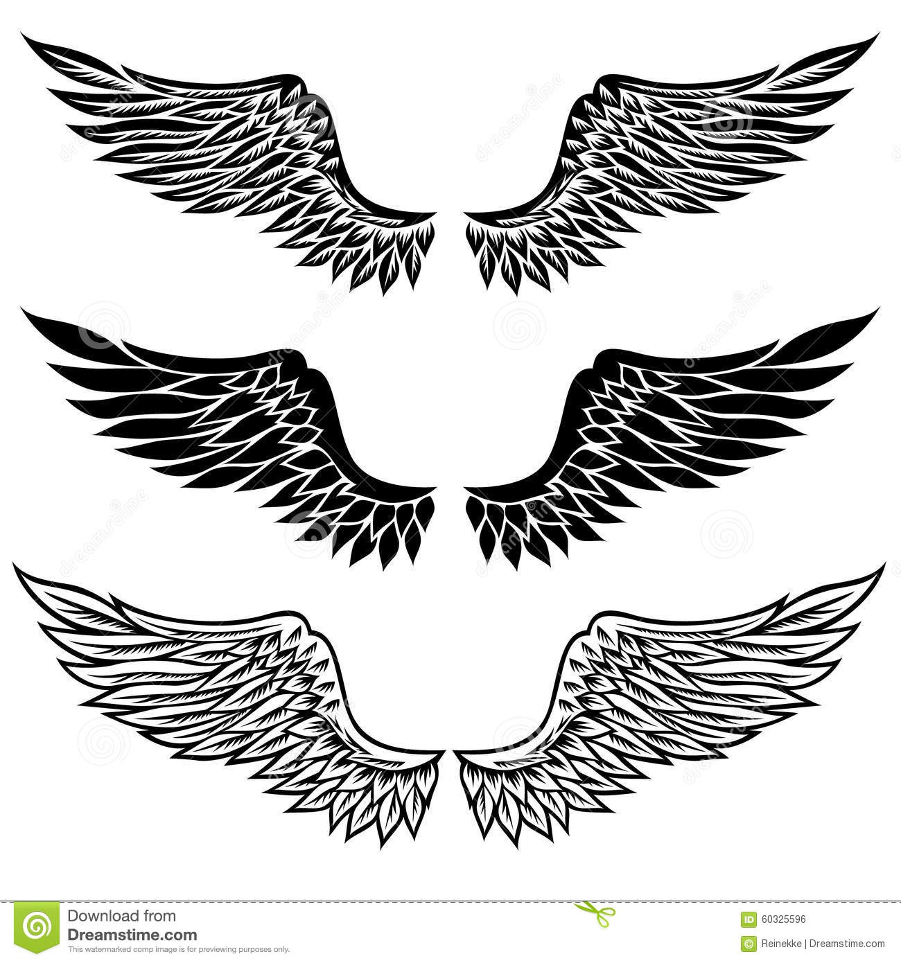 Wings Stock Vector Illustration Of Eagle Element