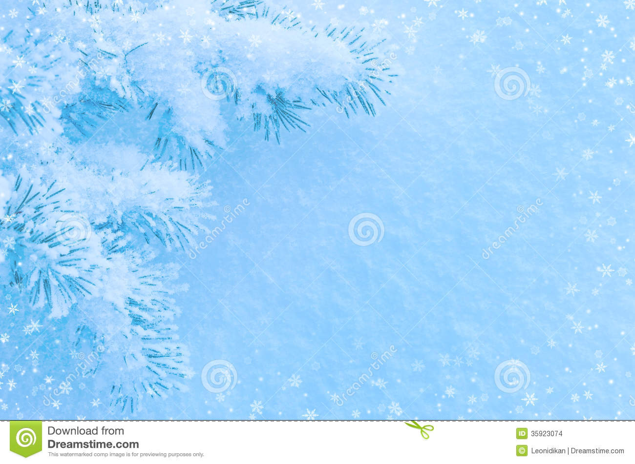Winter Background Stock Images Image 35923074